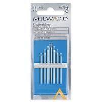 Millward Long Darner, 3-9's Hand Sewing Needles -0
