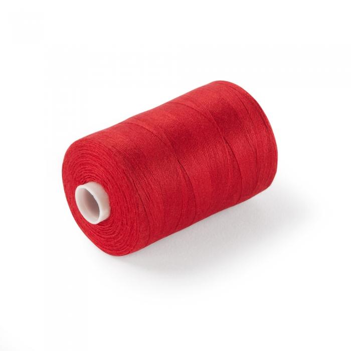120's Spun Poly Thread Red Box of 10