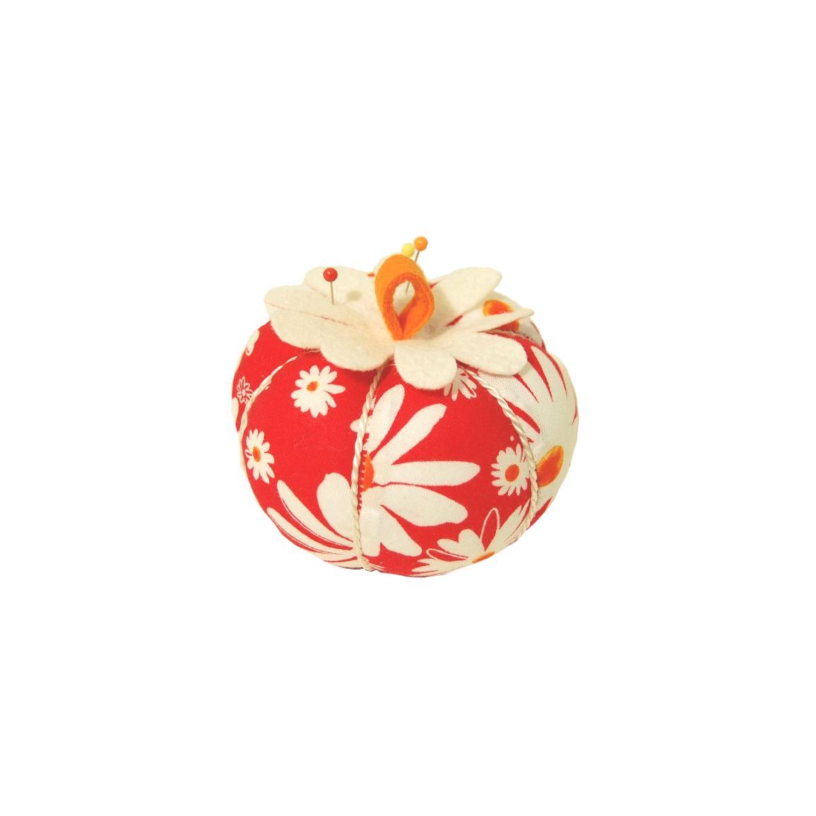 Flower Power Apple Pin Cushion