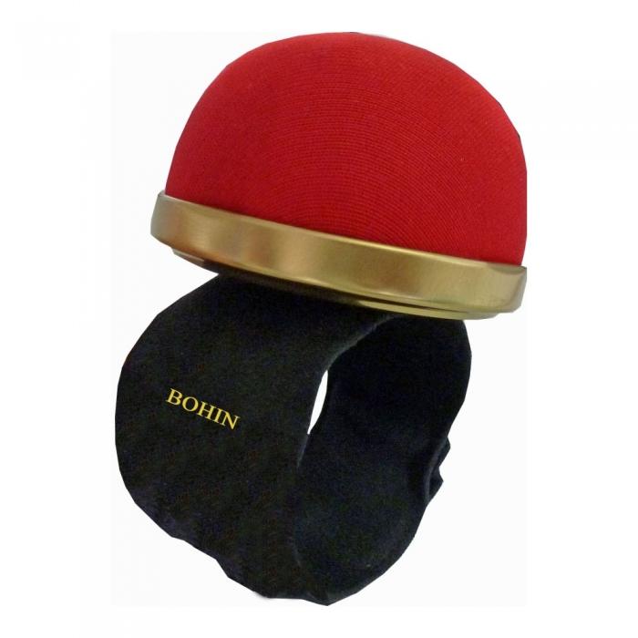 Luxury Slap On Wrist Pin Cushion Red