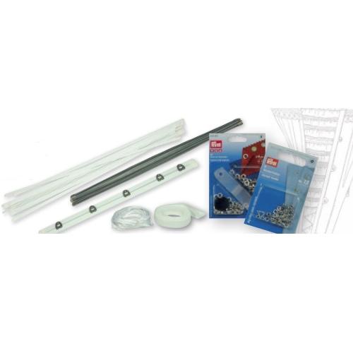 7 Piece White Corsetry Kit-0
