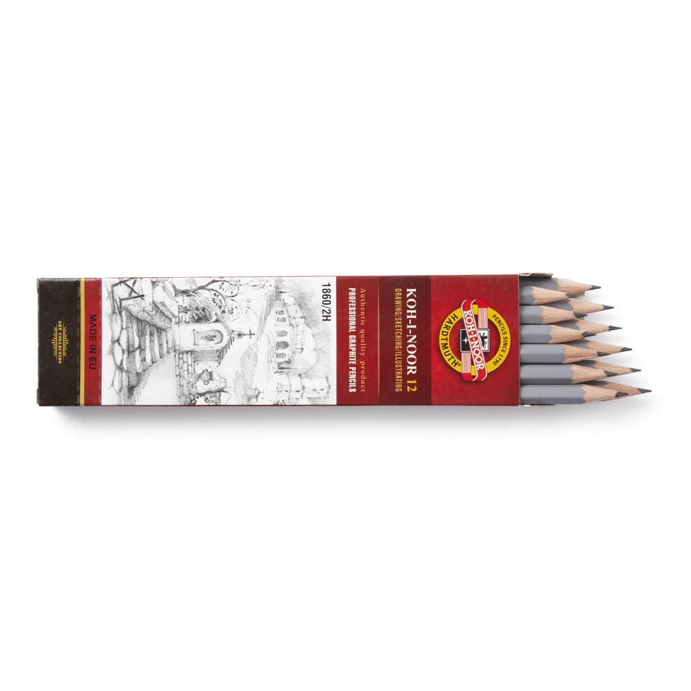 2H Drawing Pencils - pack of 12