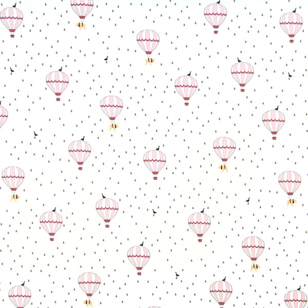 Little Friends' Balloons in Baby Pink