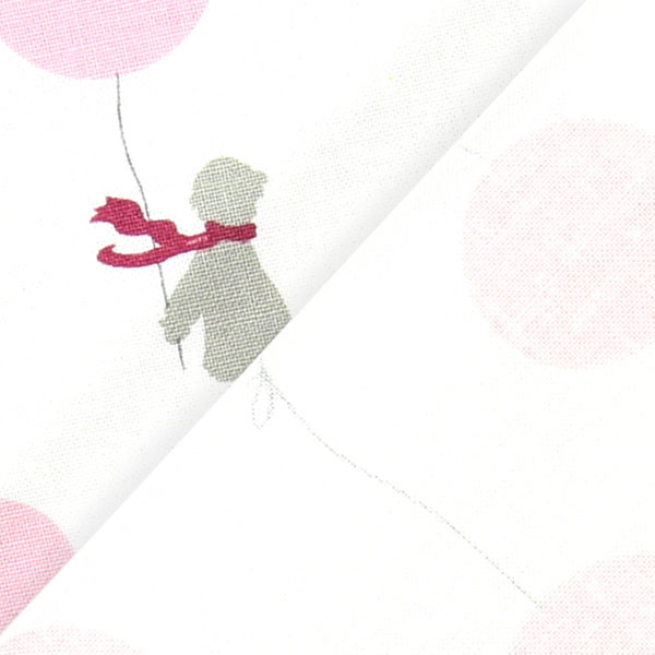 Little Friends White with Pink Balloon & Child