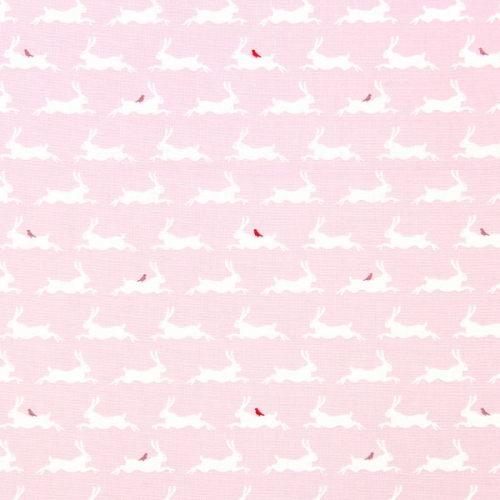 Little Friends Pink with Jumping Hare