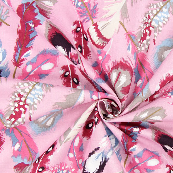 Portofino Feathers in Baby Pink 1 Metre-0