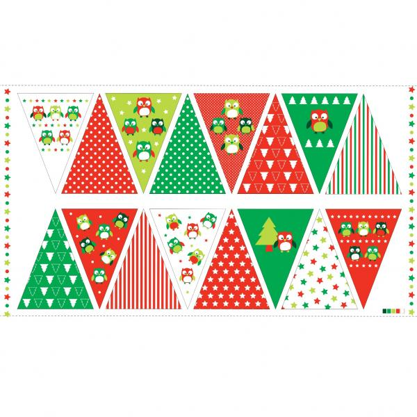 Christmas Hoots Bunting (89320-101)-0