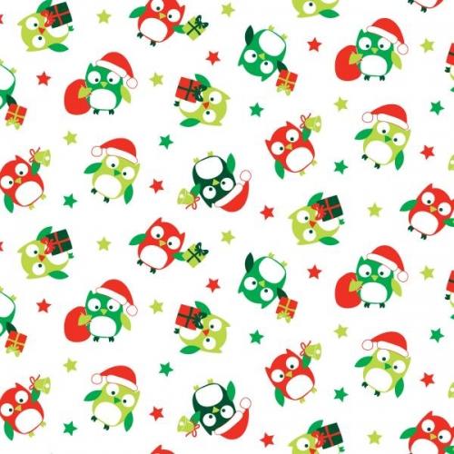 Christmas Hoots Starred Owls (89320-104)-0