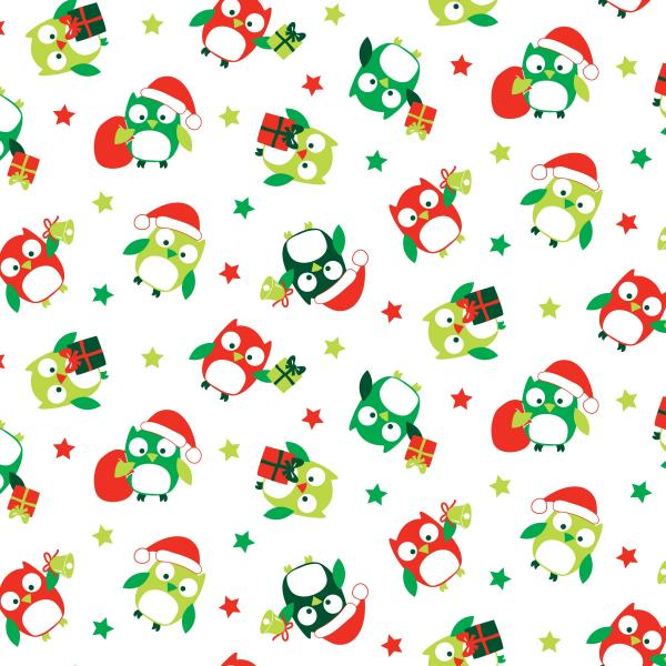 Christmas Hoots Starred Owls (89320-104)-0