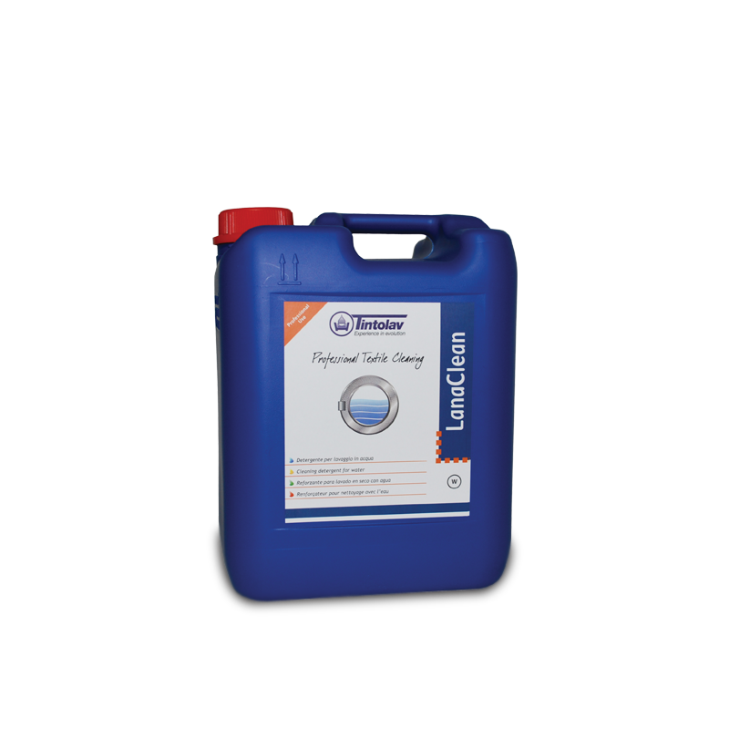 Tintolav LANACLEAN - Special detergent for Wet Cleaning wool, silk & natural fibres - 10 kilo