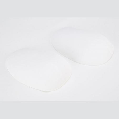 Covered Moulded Fibre Raglan Style Shoulder Pad